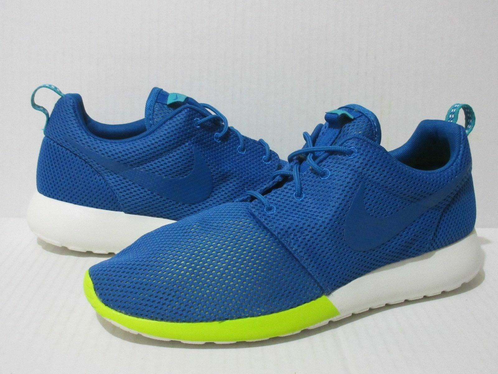 official photos f053a 890b6 NWOB Nike Rosherun Mens Sneakers 511881 511881 511881 400 Military  Blue Tribe Green Mens 10