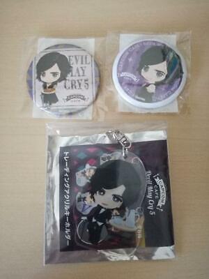 Devil May Cry 5 dmc Button Badge Acrylilc key ring V Capcom Cafe Limited