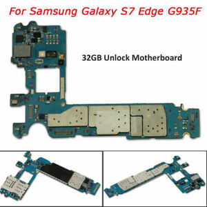 Pour-Samsung-Galaxy-S7-Edge-SM-G935F-Carte-Mere-Board-32-Go-Debloque-EU-Version
