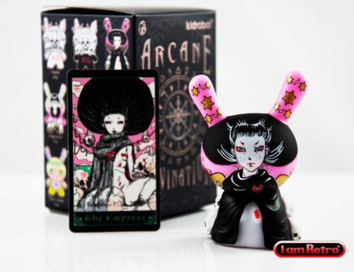 "The Empress Arcane Divination Dunny Series 3/"" Vinyl Figure Kidrobot Brand New"