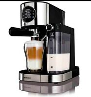 Silvercrest Brand Espresso With Milk Frother Coffee Machine