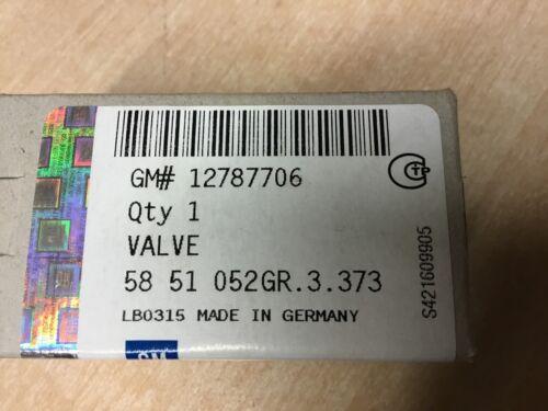 GENUINE SAAB 9-3/&9-5 BOOST PRESSURE CONTROL VALVE 2.0T /& 2.8 V6 03-12 12787706