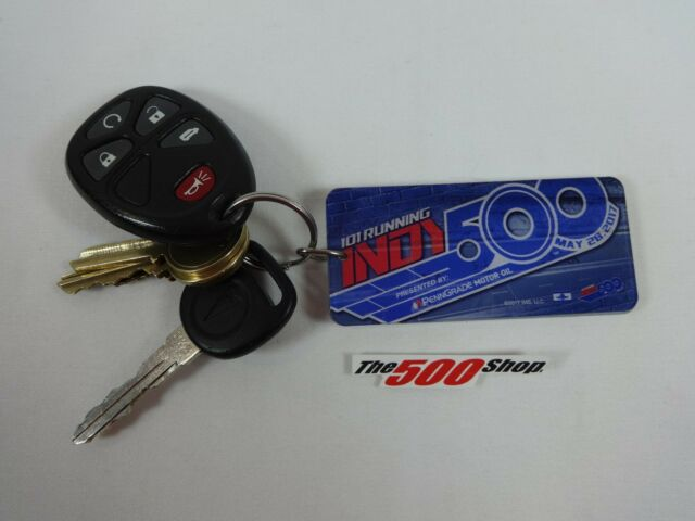2017 Indianapolis 500 101ST Running Event Collector Key Chain PennGrade Oil