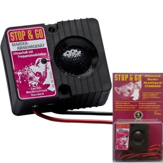 Stop&go 07535 Ultrason Sauvegarde Protection Anti-martres Choc Martres