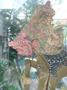 Wayang Kulit Java Indonesia Puppet