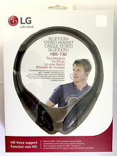 Genuine LG Tone+ Plus HBS-730 Universal Wireless Bluetooth Stereo Headset -Black