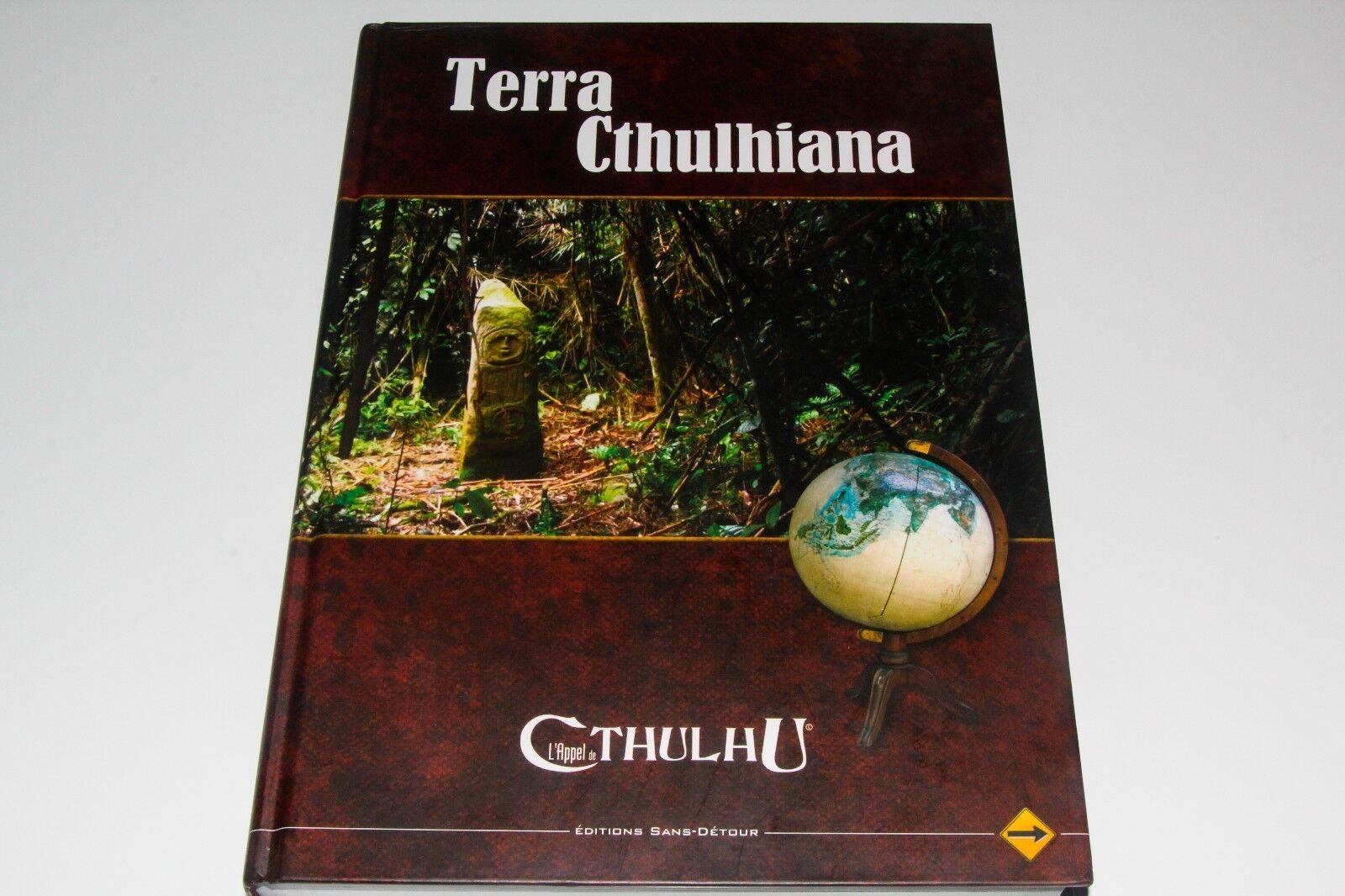 L'APPEL DE CTHULHU - TERRA CTHULHIANA -  EDITION SANS DETOUR  marque de luxe