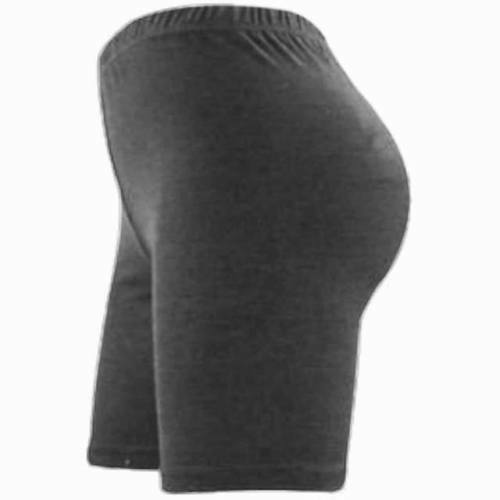 New Ladies Womens Cycling Gym Plain Stretch Shorts Elastic Hot Dance Pants 8-26