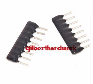 50pcs-8P-Network-Resistor-Array-A08-103-10K-2-54MM-Pin-SIP-8