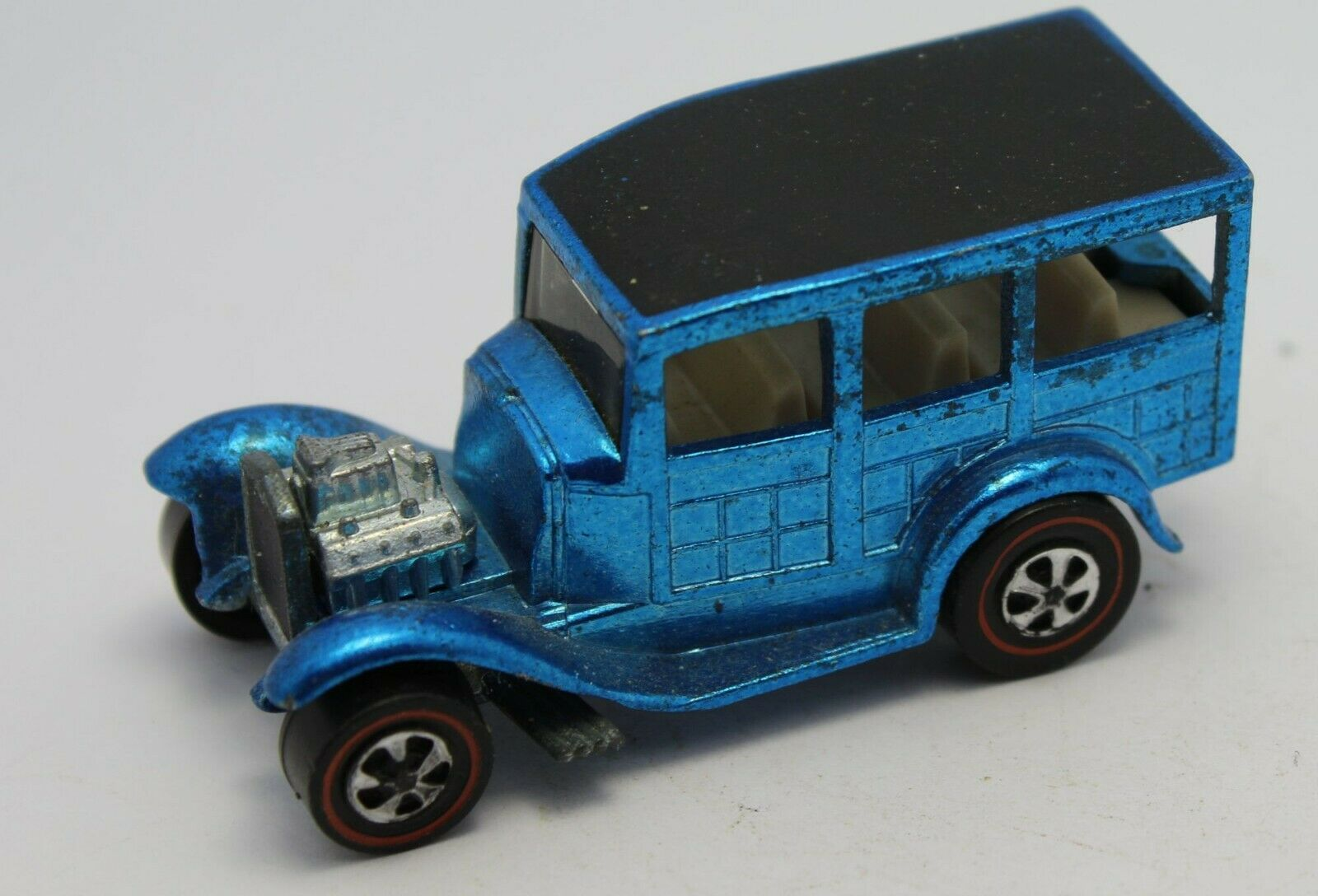 Hot Wheels Redlines  CLASSIC '31 FORD WOODY LIGHT blueE   BIN Now Fast Shipping