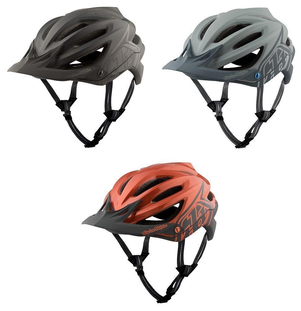 2017 TLD Troy Lee Designs A2 Decoy Mips Mountain Bike Helmet Bicycle XC