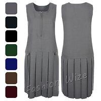 Girls School Pinafore Dress Age 2 3 4 5 6 7 8 9 10 11 12 13 14 15 16 17 18 19 20