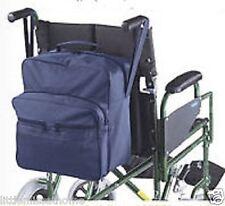 Silla de ruedas Impermeable Bolso de Compras Movilidad Scooter de vuelta portador bolsillos de almacenamiento