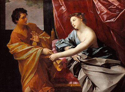 Dream-art Oil painting Salome Guido Reni Joseph and Potiphar/'s Wife on canvas