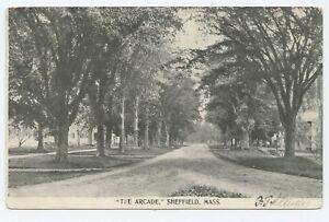 Details about The Arcade Sheffield Sheffield Massachusetts Postcard