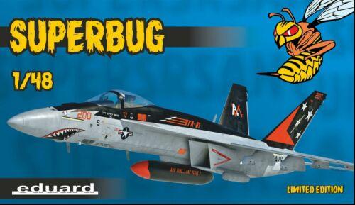 Eduard EDK11129 1//48 Boeing F//A-18E Super Hornet /'Superbug Limited Edition