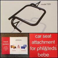 Phil & Teds Car Seat Attachment Bebe Dash Sport Classic E3 Reduced Buy Now