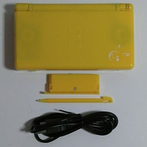 Nintendo DS Lite NDSL Yellow Custom Refurbished Gaming Console - With Charger