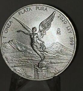 2020-Mexico-1oz-Silver-Libertad-Onza-UNC-NICE-SCARCE-SHIPPED-RIGHT-AWAY
