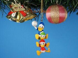 Decoration-Xmas-Ornament-Decor-Disney-Olympics-Donald-Duck-Nephews-Basketball