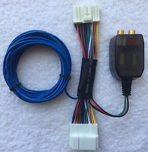 s l300 honda acura factory radio add a subwoofer amplifier plug & play plug and play wiring harness at readyjetset.co