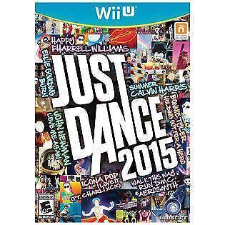 Just Dance 2015 Nintendo Wii U, 2014  - $2.25