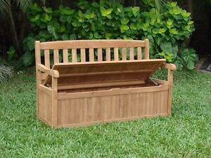 Image Is Loading 5 FEET OUTDOOR PATIO TEAK GARDEN BENCH W