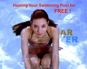 Solar Swimming Pool Heating See VIDEOS