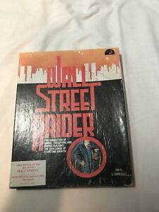 Wall-Street-Raider-PC-DOS-Big-Box-DOS-5-25-Disk-Tested-Working-Rare