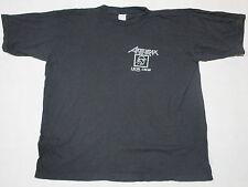 Anthrax Local Crew Europe Tour 93 Vintage T-Shirt Death Trash Metal Heavy #1 XL