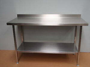 FULLY-ASSEMBLED-3-FOOT-STAINLESS-STEEL-KITCHEN-TABLE-129-Vat-PREP-BENCH-SHELF