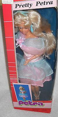 #3789 NIB Vintage Plasty Lundby Pretty Petra Fashion Doll