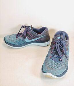 3c164c2bf1577 Women s Nike Flyknit Lunar 3 Squadron Blue size 7.5 Shoes ...