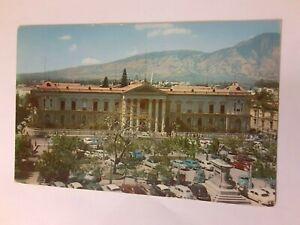 National-Palace-of-El-Salvador-Vintage-Postcard