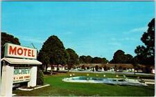 NEW PORT RICHEY, Florida  FL   Roadside  RICHEY MOTEL    Postcard