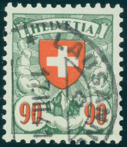 SCHWEIZ-1940-MiNr-194-y-sauber-gestempelt-Mi-100