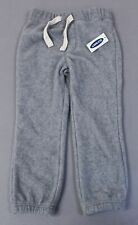 NWT Old Navy Girls 5T Jersey Pull-On Pants BLACK GRAY Cuffed Ankle NEW  #19218