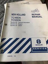 New Holland Tc48da Tc55da Tractor Factory Service Repair Manuals