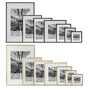 Cooper-amp-Co-Premium-Metallicus-Metal-Photo-Picture-Frames-Multi-Size-and-Pack