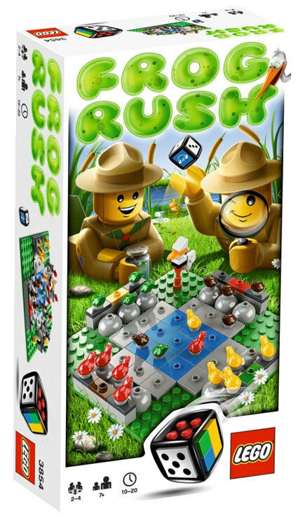 LEGO Games  3854 - - Frog Rush - Collector 2011 - - 100% NEW   NEUF - SEALED fd3fdb