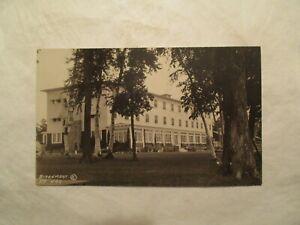 Details About Rppc Bemidji Minnesota Birchmont Hotel Resort 5 Mn Real Photo Postcard