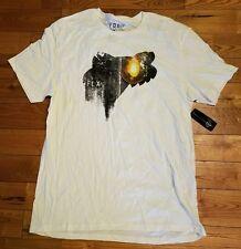 NWT Mens Vintage White FOX Wellwood S/S Premium Graphic T-Shirt Size XL X-Large