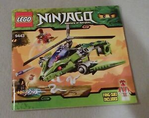Lego-NINJAGO-Instruction-Manual-Only-9443-Rattlecopter