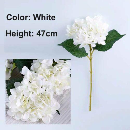 1x Artificial Silk Flower Fake Hydrangea Bouquet Wedding Party Home House Decors