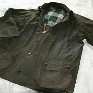 BARBOUR-CLASSIC-BEAUFORT-WAX-JACKET-MENS-SIZE-40-GREEN-with-INNER-BODY-WARMER