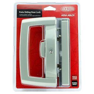 Lockwood Onyx PATIO SLIDING DOOR LOCK Lock Alert Dual Handed Sliding ...