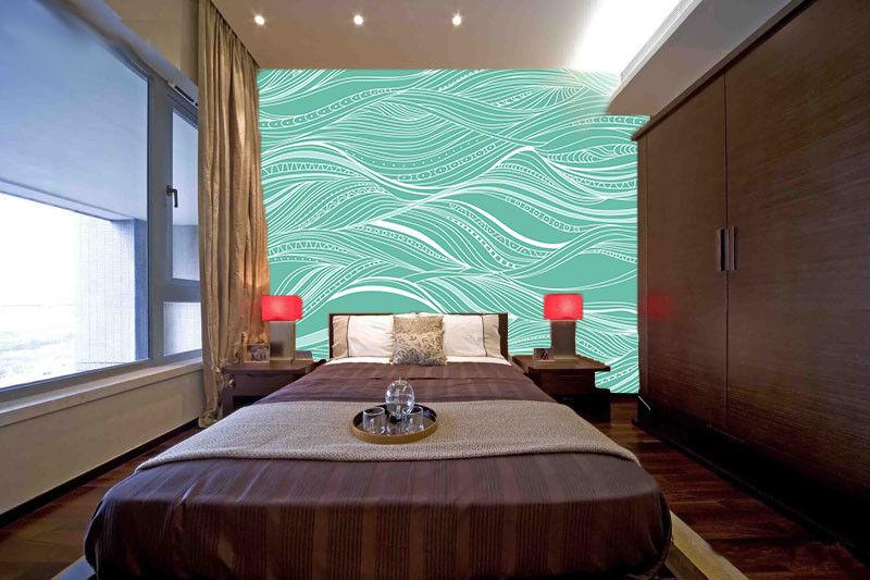 3D Bule Ocean 4071 Wallpaper Murals Wall Print Wall Mural AJ WALLPAPER UK Carly