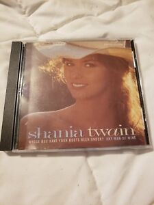 Details About Shania Twain Whose Bed Have Your Boots Been Under Any Man Of Mine