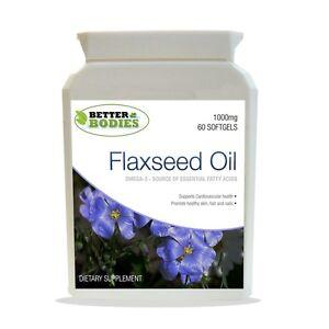 OLIO-Flaxseed-1000mg-Softgels-CAPSULE-OMEGA-3-6-9-SEMI-DI-LINO-OLIO-di-semi-di-lino-60-caps