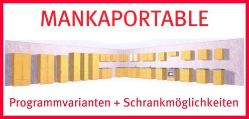 robinet MANKAPORTABLE hêtre 110cm Lave-vaisselle//APL//hängeschr.//évier Spülzentrum M
